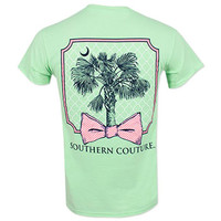 Southern Couture Palmetto Tree T-Shirt - Mint