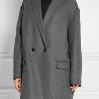 Isabel Marant - Filipa oversized wool and cashmere-blend coat