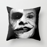 joker Throw Pillow by SEANLAR94