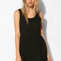 Pins And Needles Scallop-Hem Fit + Flare Dress-