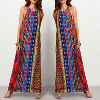 Women Floral Printed Floral Printed One Piece Dress _ 12046