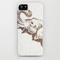 The Wisest Elephant iPhone & iPod Case by Paula Belle Flores