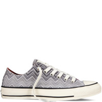 Converse - Converse X Missoni Chuck Taylor All Star Washed Canvas - Black - Low Top