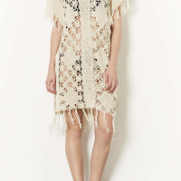 Crochet Fringe Cover Up - New In This Week - New In - Topshop USA