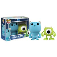 """Funko MIKE & SULLEY 2.5"""" MINI POP VINYL FIGURE SET from MONSTERS, INC."""