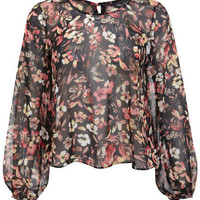 Winter Floral Blouse - View All - New In