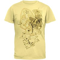 Cage The Elephant - Faded Doodle Soft T-Shirt