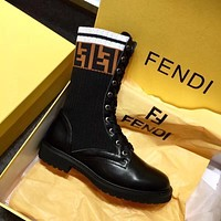 Fendi fashion Martin boots