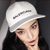 Balenciaga Fashion Women Men Personality Sport Sunhat Embroidery Logo Baseball Cap Hat