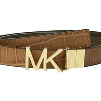 Womens Michael Kors Belt Exotic Reversible.