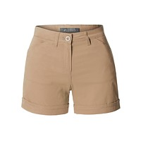 Mid Rise Fitted Solid Chino Shorts with Pockets (CLEARANCE)