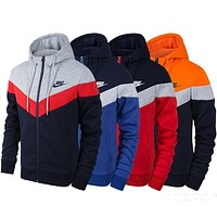 Nike: fashion sportswear and Cashmere Sweater Hoodie-1
