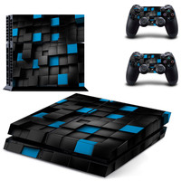 3D Effects Vinyl Skin Sticker Cover For Sony  PS4 Playstation 4 Console  Controller Decal  Game consoles