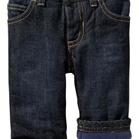 Old Navy Fleece Lined Jeans For Baby