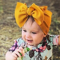 Kids Hair Bow For Baby Girl Headband Newborn Children Toddler Elastic Hairband