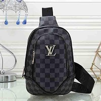 Louis Vuitton LV Women Fashion Leather Chest Bag Crossbody Bag Shoulder Bag