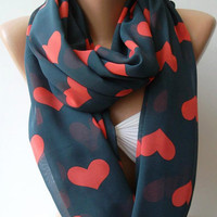 Please Do Not Buy - Reserved Listing for Adam - LOVE SCARF - Infinity Scarf Loop Scarf Circle Scarf