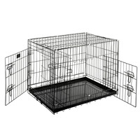 """Pet Trex 30"""" Folding Pet Crate Kennel Wire Cage for Dogs - Cats or Rabbits"""