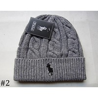 POLO 208 autumn and winter models men and women fashion tide brand wool cap F0908-1 #2
