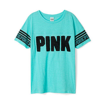 Athletic Tee Pink Victoria S Secret From Vs Pink Clothing