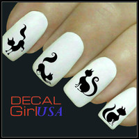 Cat Nail Art Decal 32 Water Slide Decals