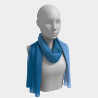 Blues Long Scarf