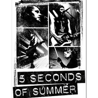 5 Seconds Of Summer Photo Block Poster
