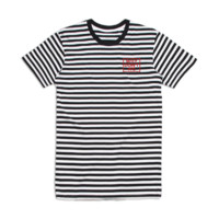 Striped Logo T-Shirt - Apparel