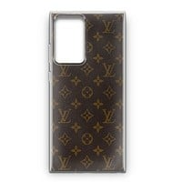 Louis Vuitton Leather Samsung Galaxy Note 20 Ultra Case