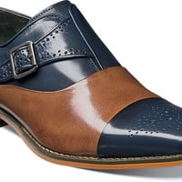 Tipton Cap Toe Monk Strap by Stacy Adams