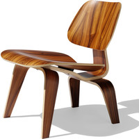 eames molded plywood lounge chair - lcw