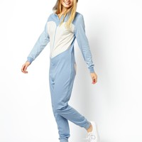 ASOS Cute Bear Onesuit