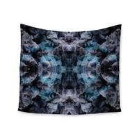 "Akwaflorell ""Abyss"" Blue Black Wall Tapestry"