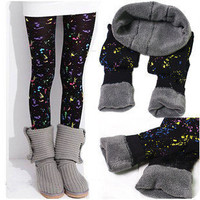 Comfortable Painting Style Spalsh Leggings from 1Point99.com