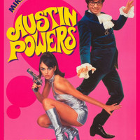 Austin Powers: International Man of Mystery (French) 27x40 Movie Poster (1997)