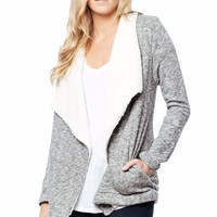 Sherpa Sweater Cardigan
