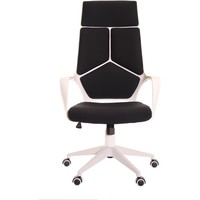 Modern Ergonomic Office Chair Black White by TimeOffice