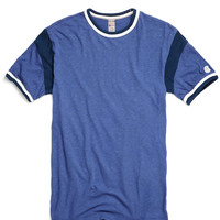 Short Sleeve Armhole Tee in Royal