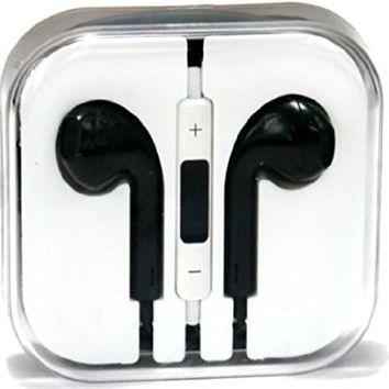 xGen Earpods high quality material sound New Design Handsfree Stereo Earphones Earbuds with Remote and Microphone for iPhone 6, 6 plus, 5,5s,5c iPads, iPods nano competible (White)