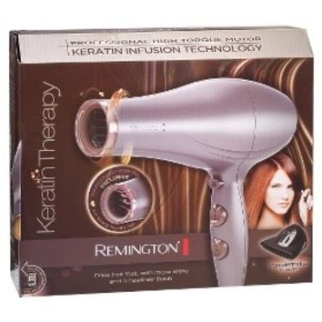 Remington Style Therapy: Keratin Therapy Hair Dryer