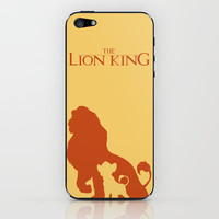 The Lion King iPhone & iPod Skin by Citron Vert | Society6