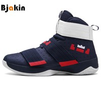 Men Basketball Shoes Court Male Basketball Ankle Boots