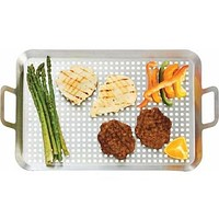 Large Stainless Steel BBQ Grill Tray
