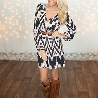 Get Noticed Tunic Dress
