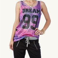 Galaxy Dream Basketball Jersey