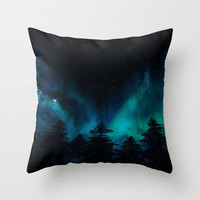 Stary Night  Throw Pillow by North Star Artwork