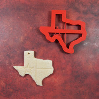 Texas Flag Cookie Cutter, Texas Shaped Cookie Cutter, Texas, 3D Printed Cookie Cutter, 3D Printed Texas Shaped Cookie Cutter, Texas Flag