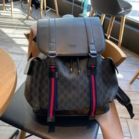 Gucci Men's and Women's Fashion Leather Bag, Backpack, Shoulder Bag, Handbag and Backpack