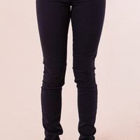 Classic City Skinnies in Navy