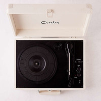 Crosley Cream Canvas Cruiser Bluetooth Record Player | Urban Outfitters